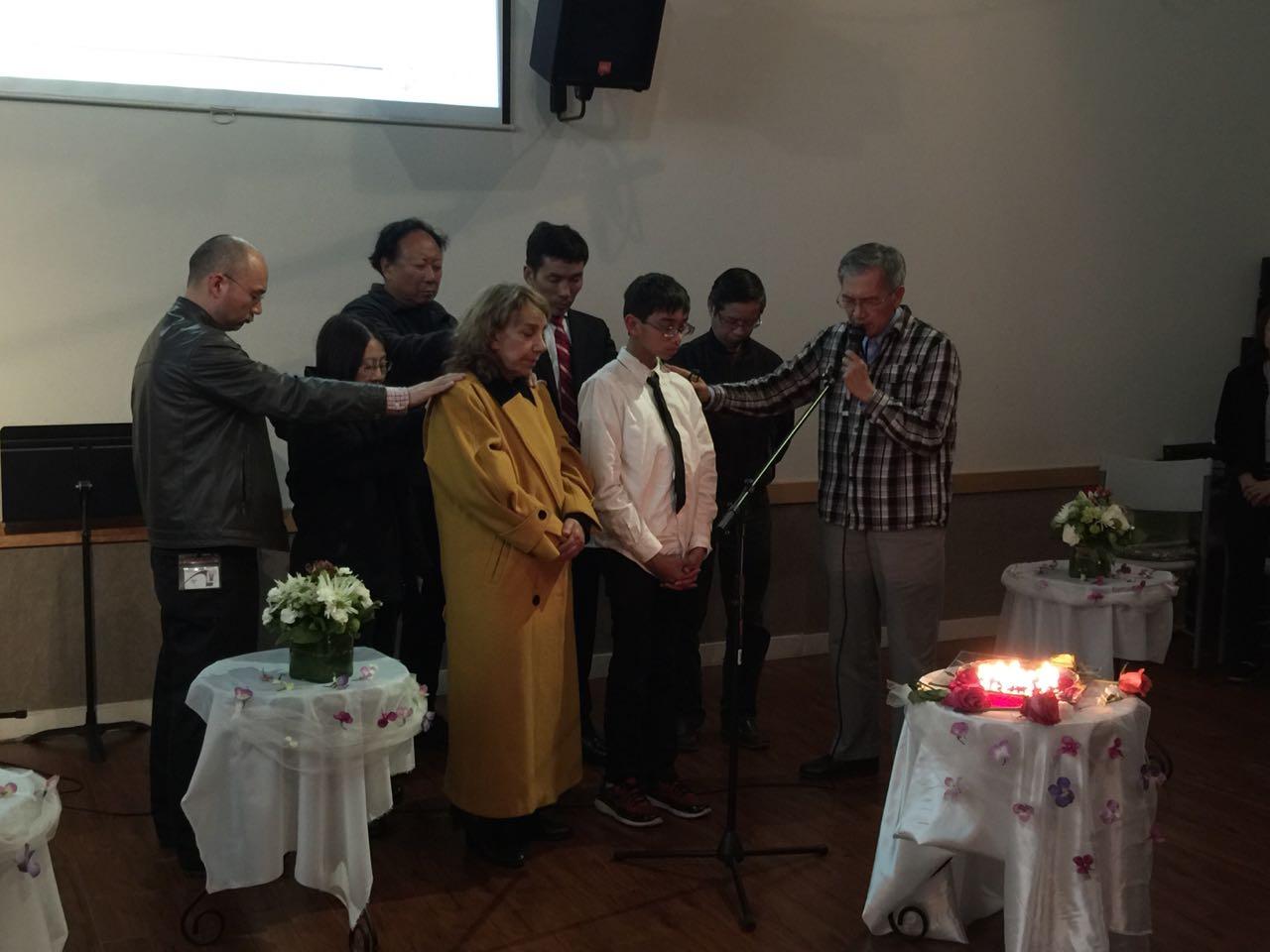 牧师最后的祷告